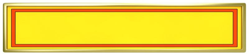 Clipart - Yellow Panel with Red Border