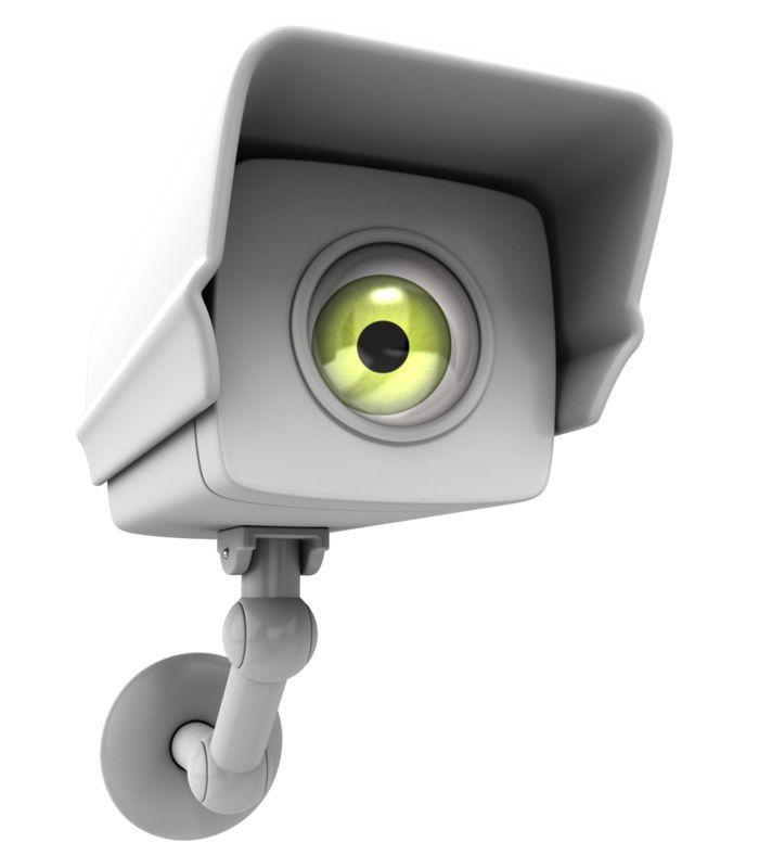 Clipart - Camera Surveillance Big Brother