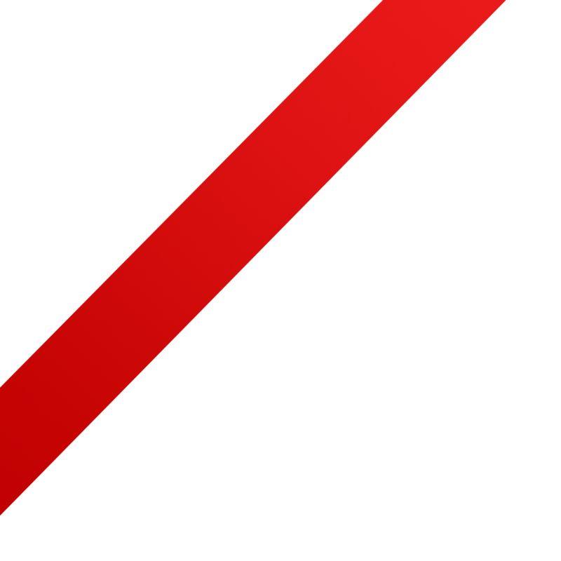 Clipart - Left Corner Ribbon- Bow Part 1