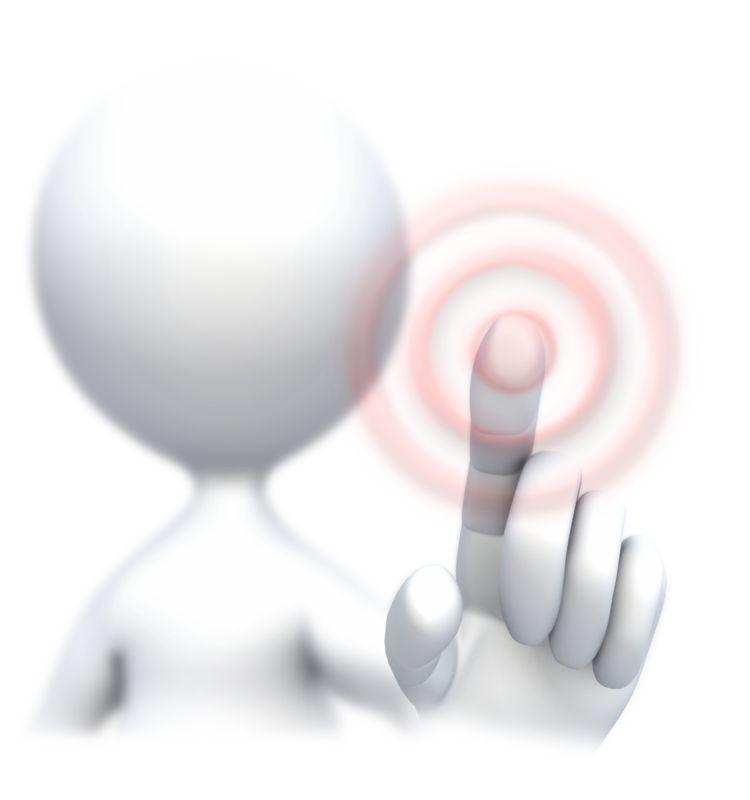 Clipart - Stick Figure Screen Press