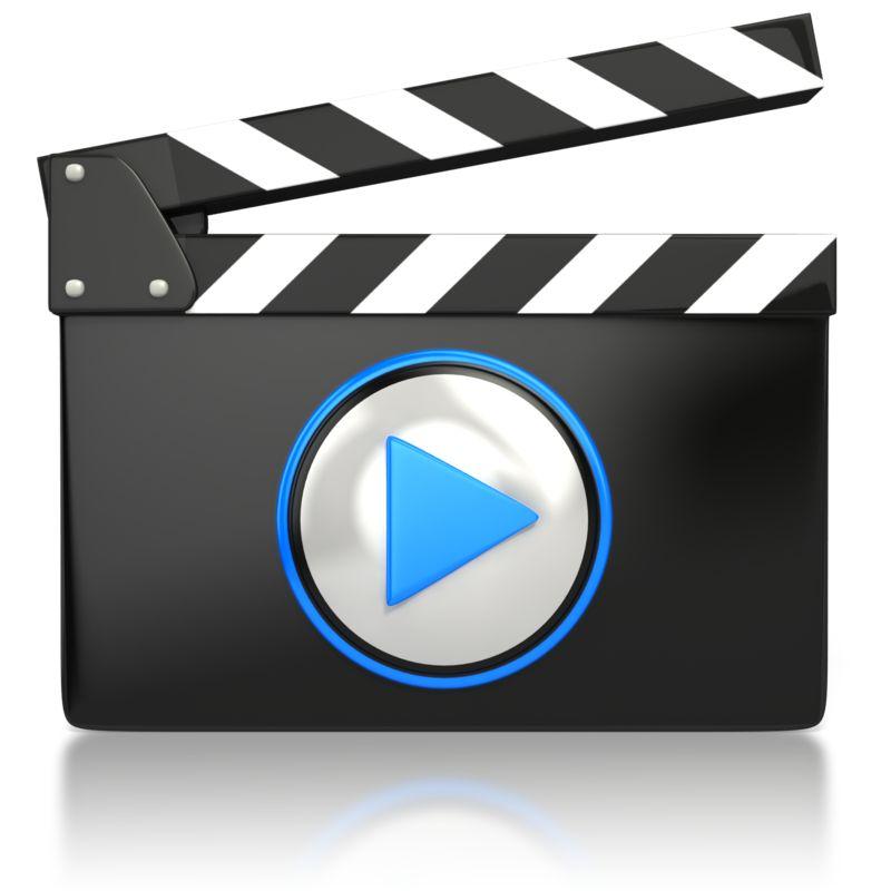 Clipart - Movie Video Media Icon