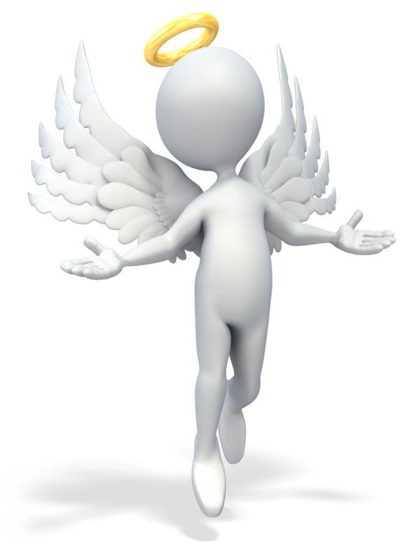 Clipart - Angel Figure