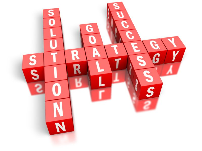Clipart - Strategy Success Block Puzzle