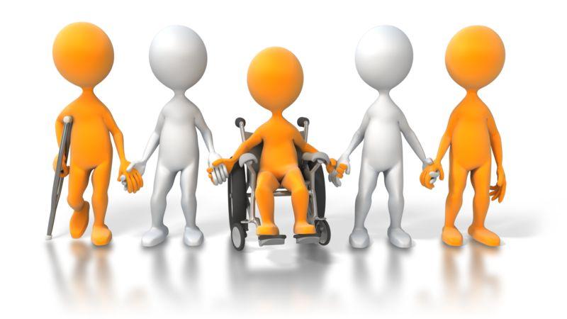 Clipart - Disability Diversity Figures