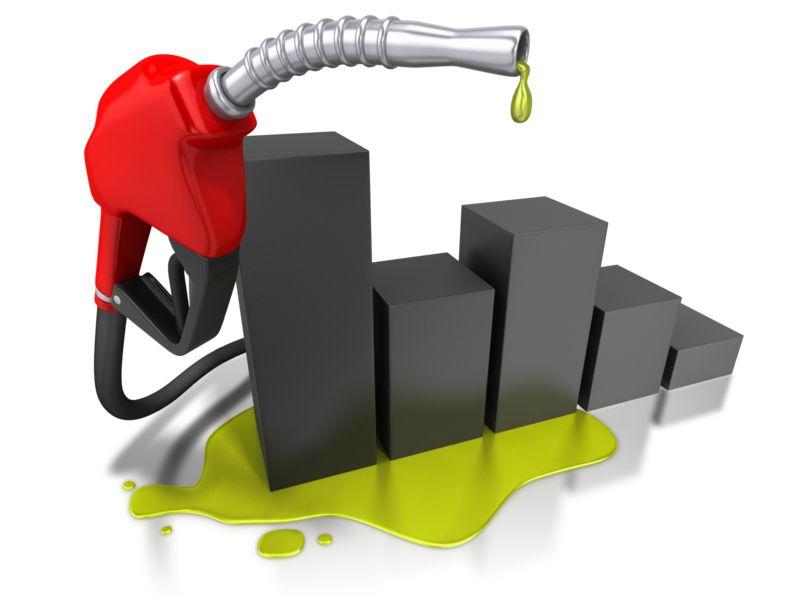 Clipart - Gas Pump Graph Increase