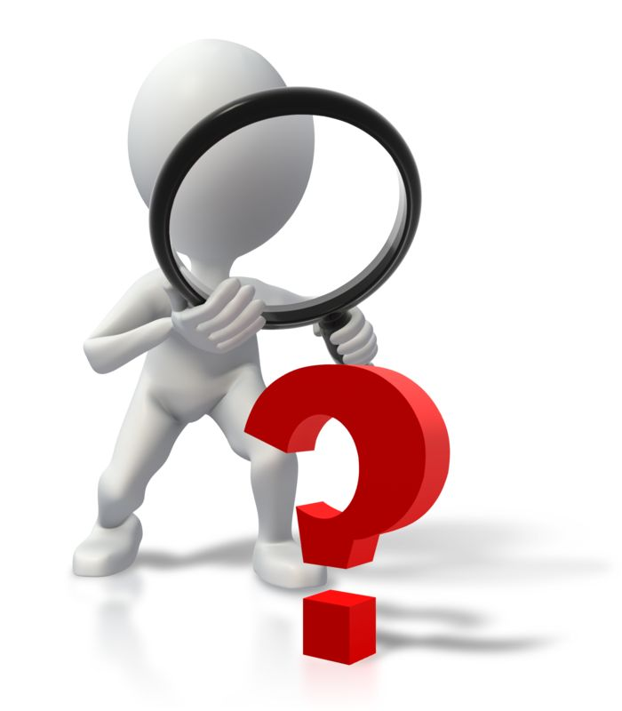 Clipart - Stick Figure Searching For Answers