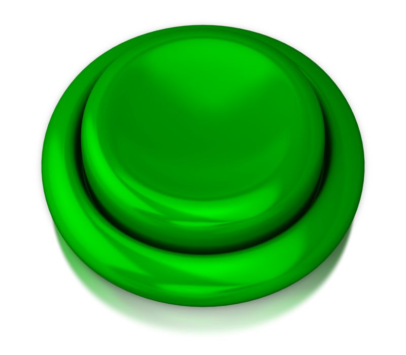 Clipart - Video Game Style Button