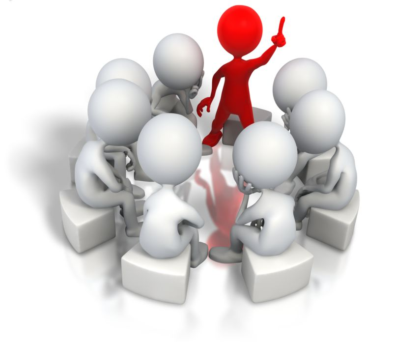 Clipart - Corporate Think Tank Solution
