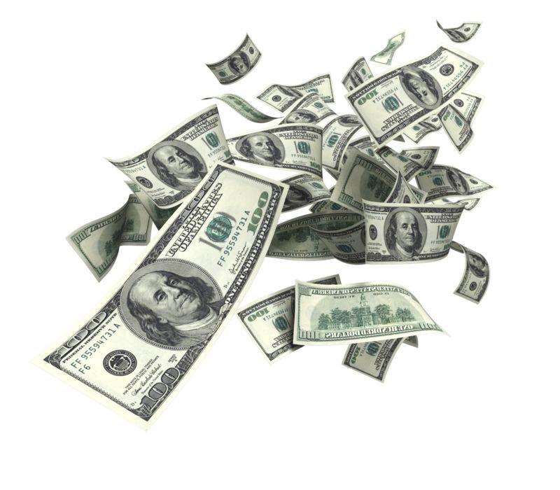 Clipart - United States Dollar Falling
