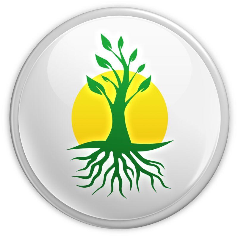 Clipart - Green Growth Button