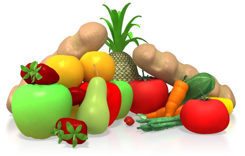 Clipart - Healthy Food