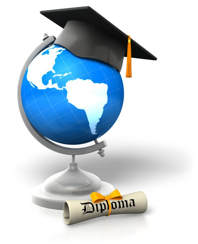 Clipart - Global Degree Educated