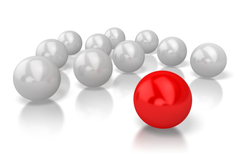 Clipart - Ball Stand Out