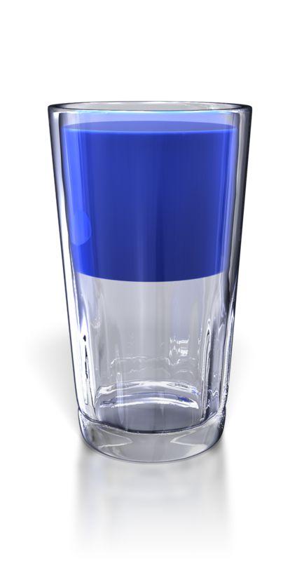 Clipart - Glass Half Full