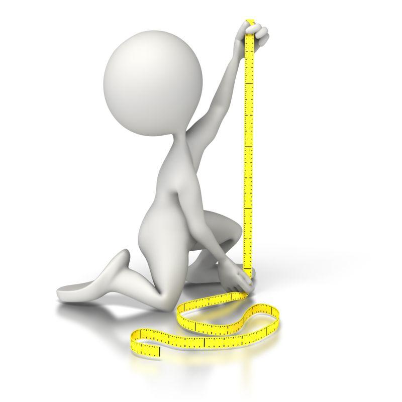 Clipart - Figure Measure
