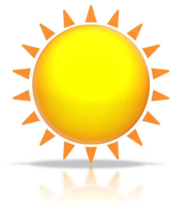 Clipart - Sun Shine