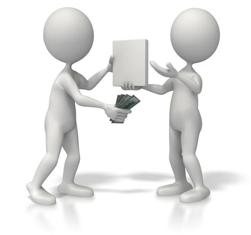 Clipart - Sales Transaction