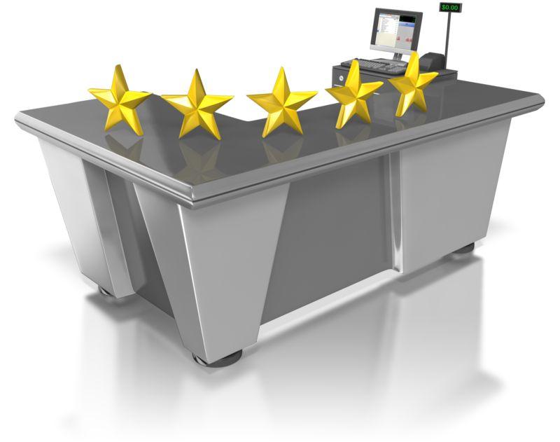 Clipart - Five Star Retail Customer Service