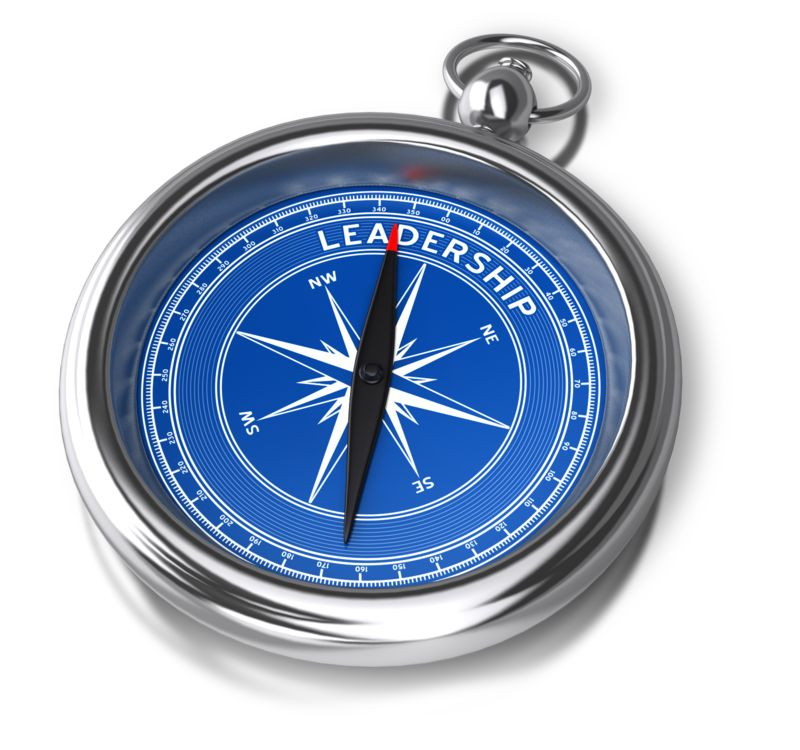 Clipart - Compass Leadership Direction