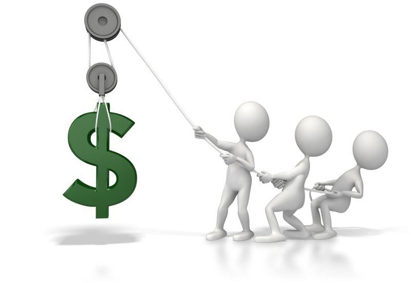 Clipart - Lift Dollar Fundraiser