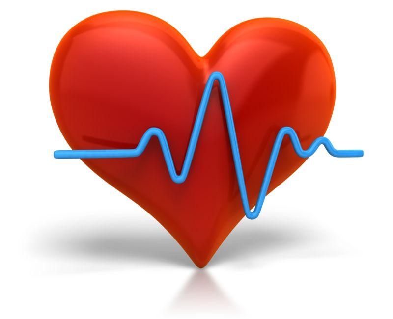 Clipart - Heart Beat Cardiogram