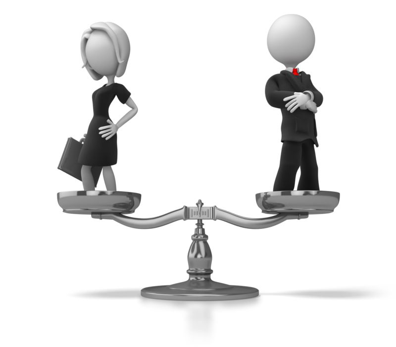 Clipart - Business Equality