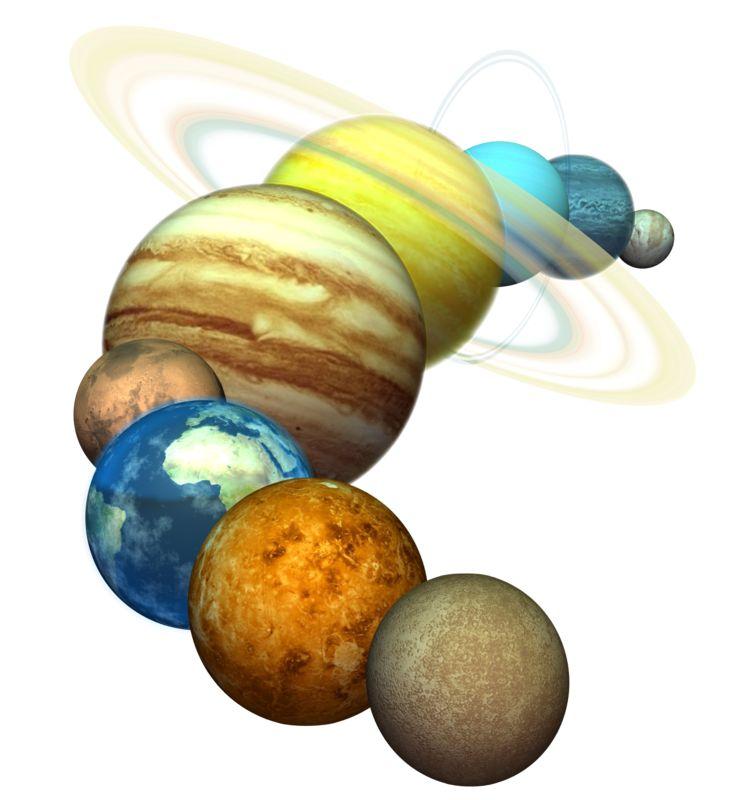 Clipart - Plant Solar System
