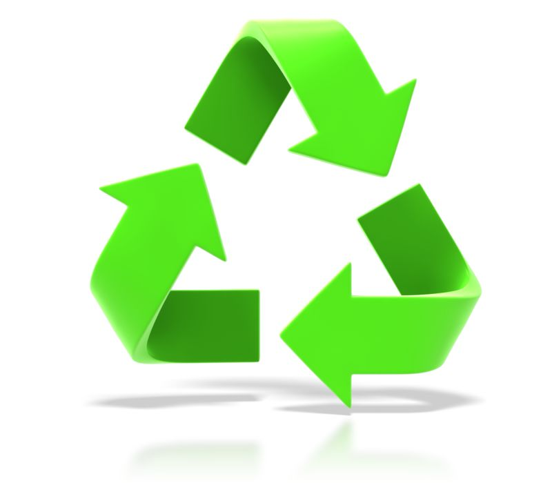 Clipart - Recycle Symbol