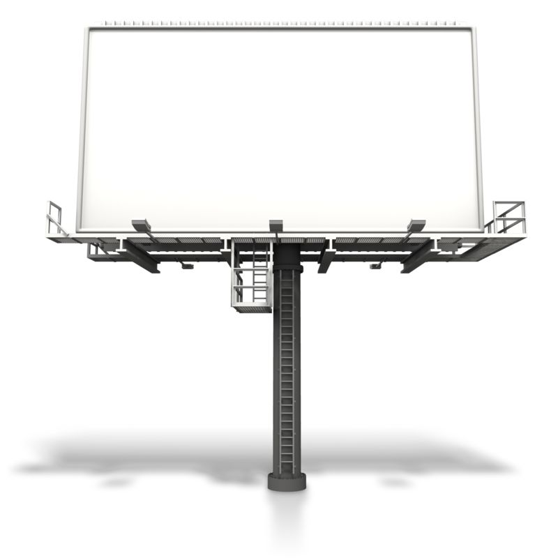 Clipart - Large Billboard Display