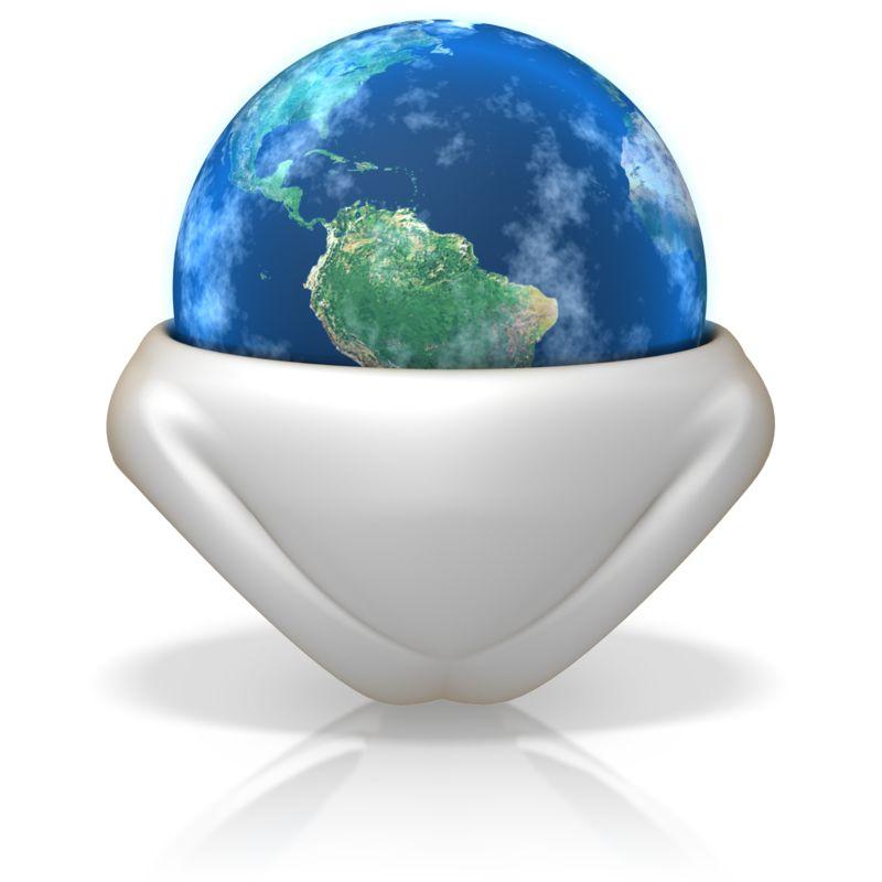 Clipart - Earth In a Diaper