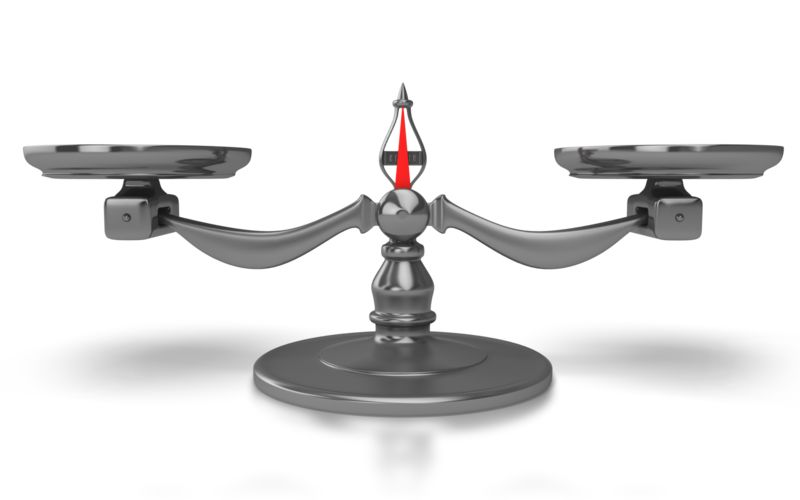 Clipart - Scale Balanced