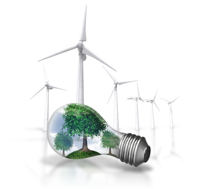 Clipart - Nature Energy Wind Turbine