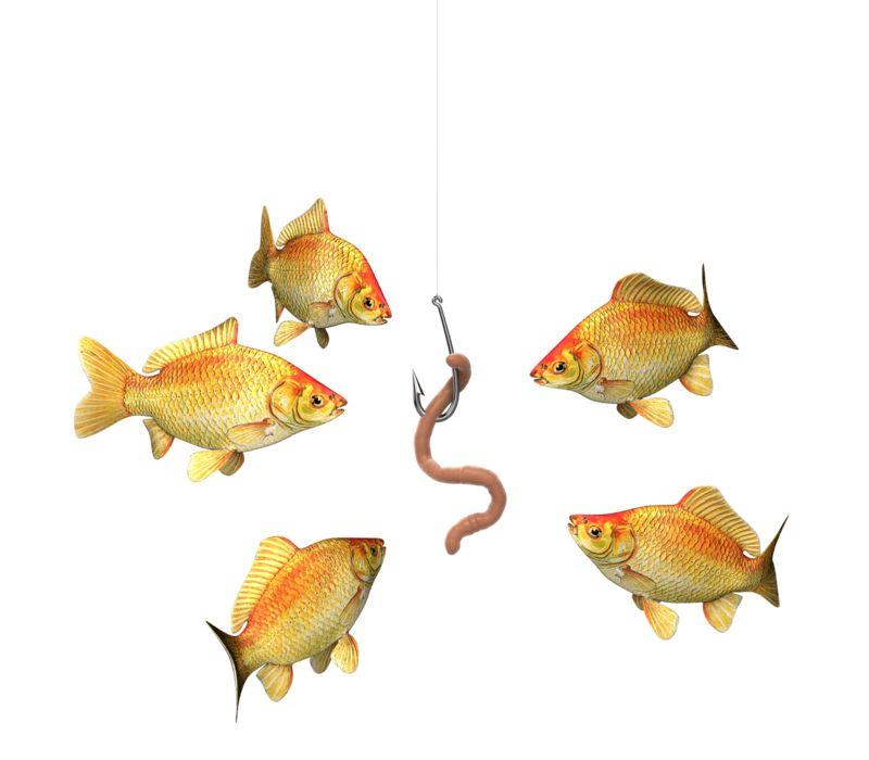 Clipart - Risky Business Fish Bait