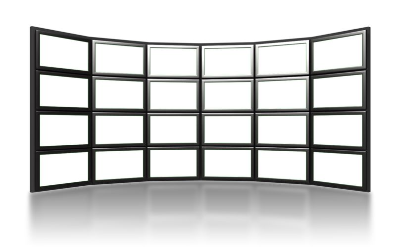 Clipart - Video Wall