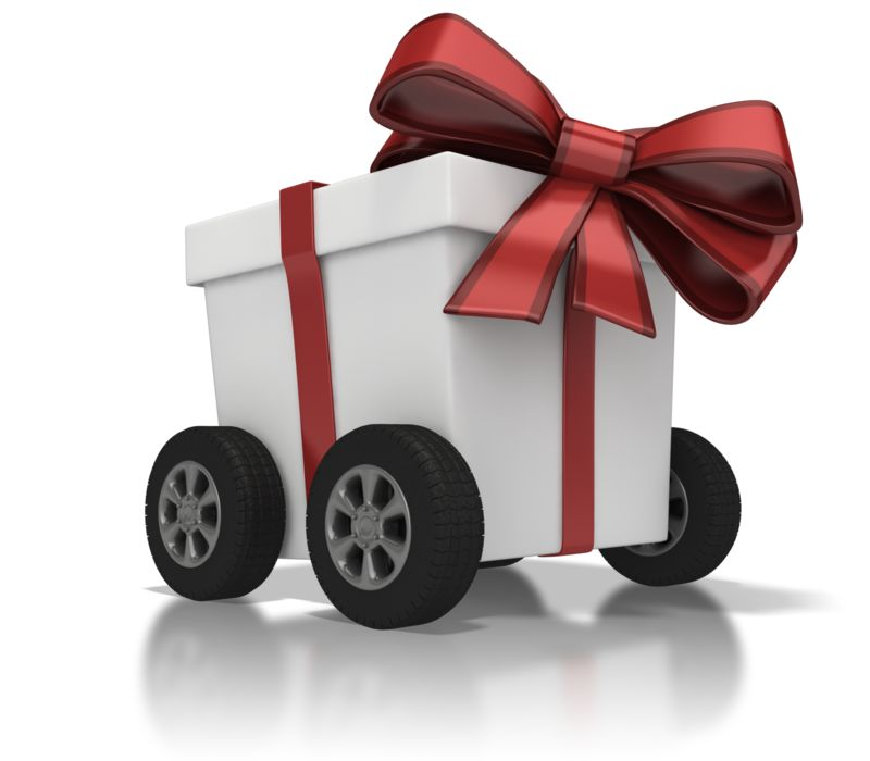 Clipart - Gift Delivery