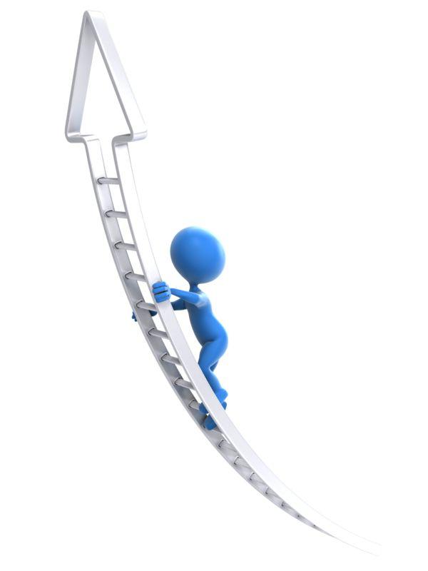 Clipart - The Corporate Climb