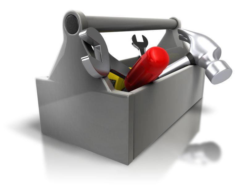 Clipart - Toolbox Kit Fix
