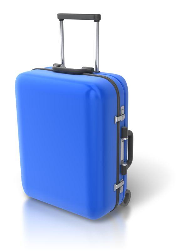 Clipart - Single Luggage Upright