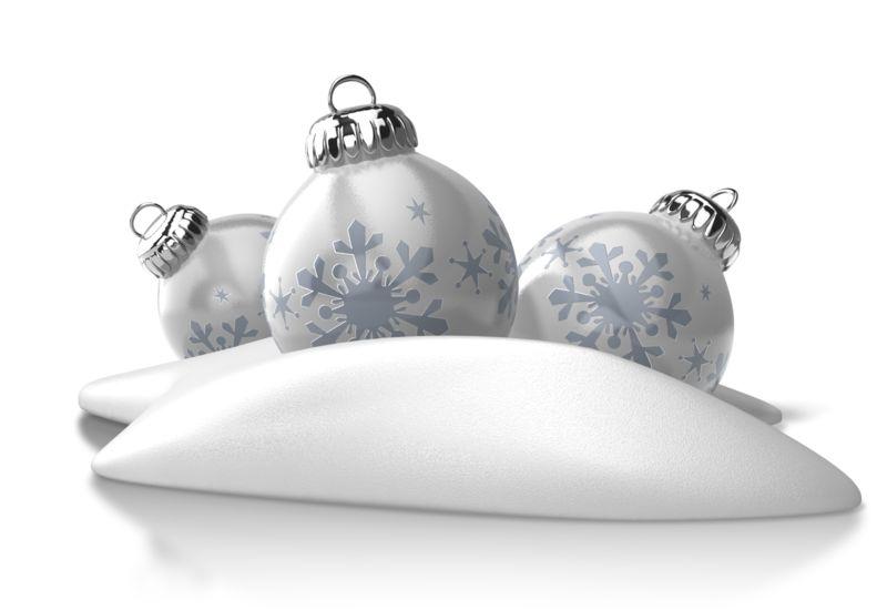 Clipart - Winter Ornaments