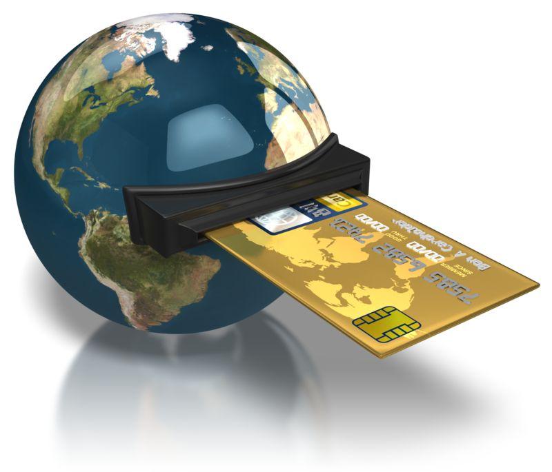 Clipart - World Credit Card