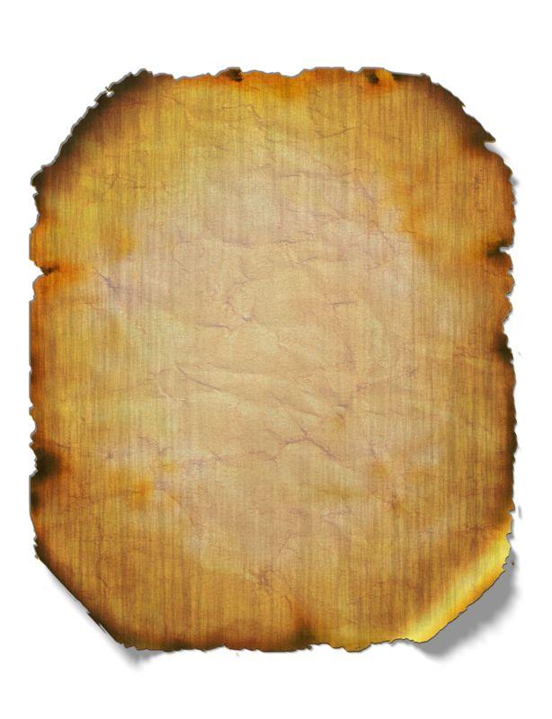 Clipart - Burned Parchment