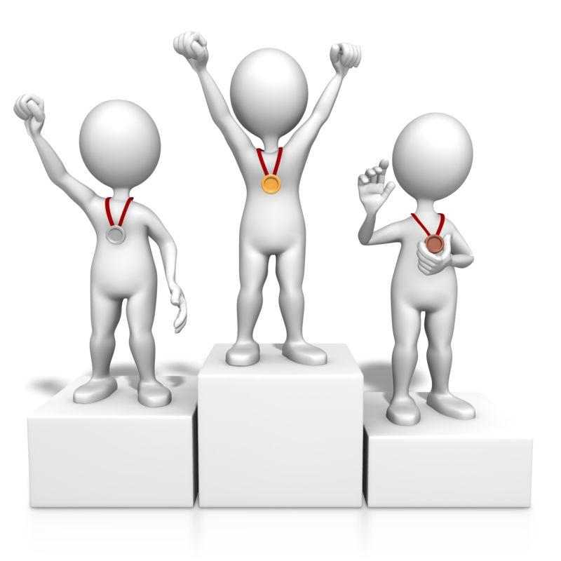 Clipart - Winners On Podium