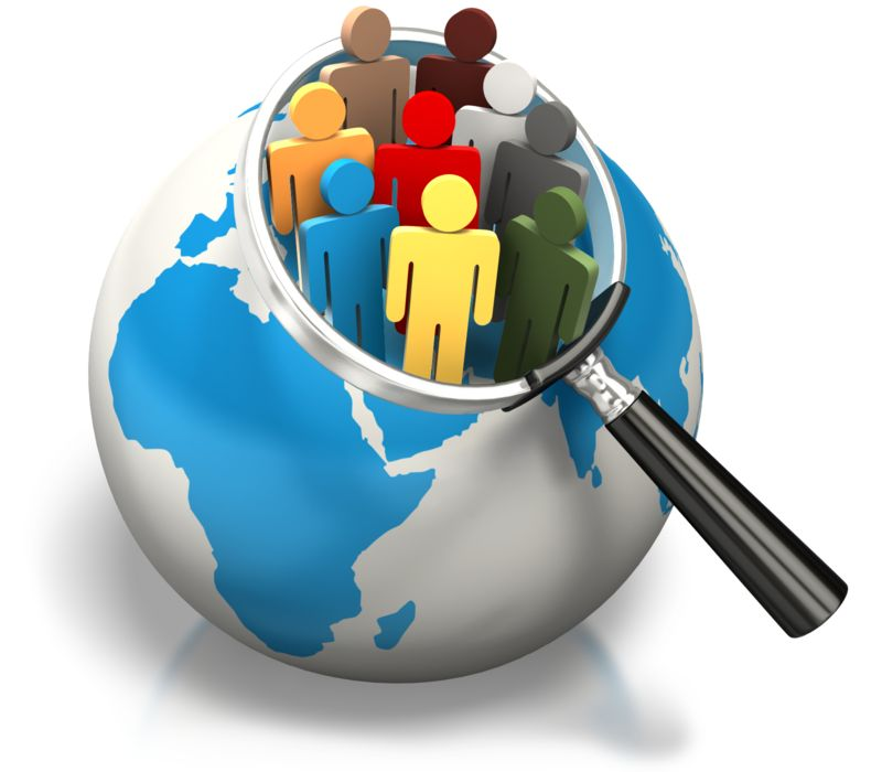 Clipart - World Population Africa Europe Search