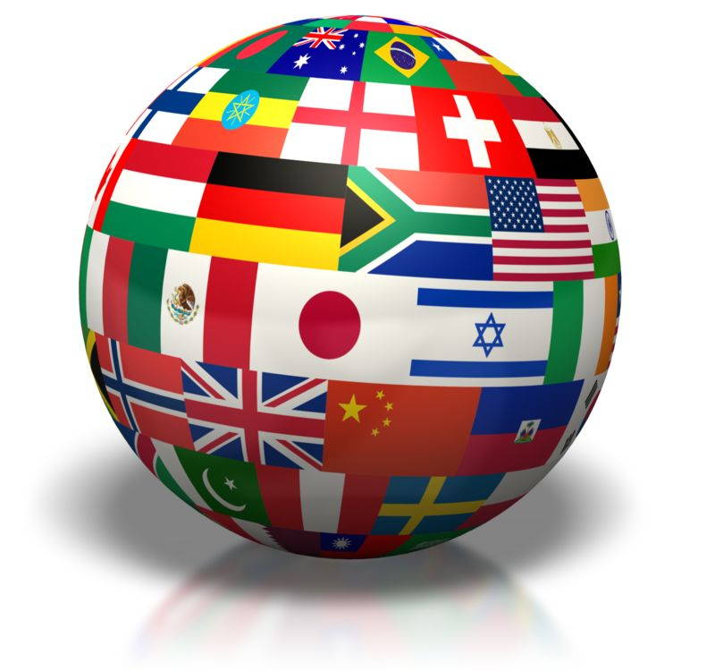 Clipart - Country Flags Of The World