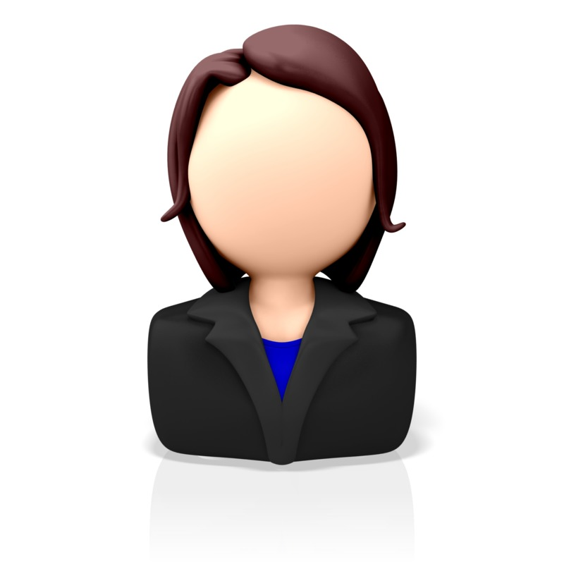 Clipart - Business Icon Woman