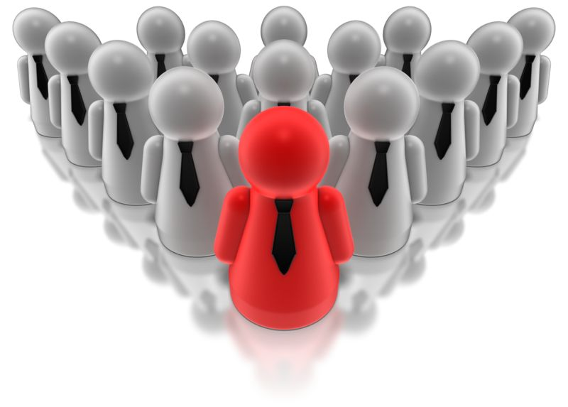 Clipart - Group Leader