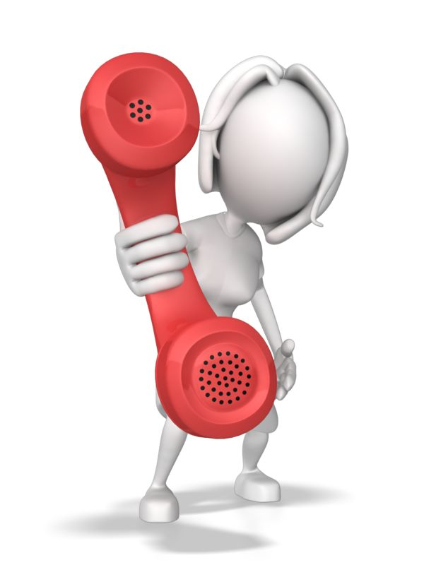 Clipart - Woman Hold Out Phone