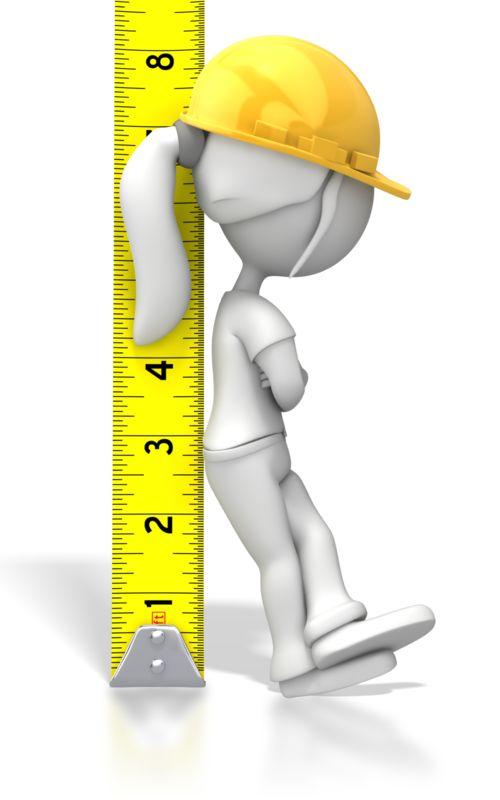 Clipart - Woman Tape Measure