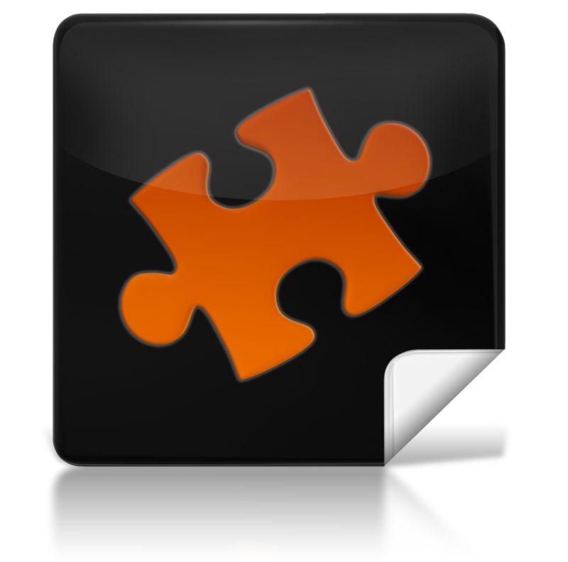 Clipart - Puzzle Square Icon