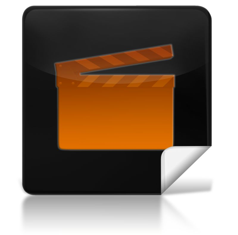Clipart - Movie Square Icon